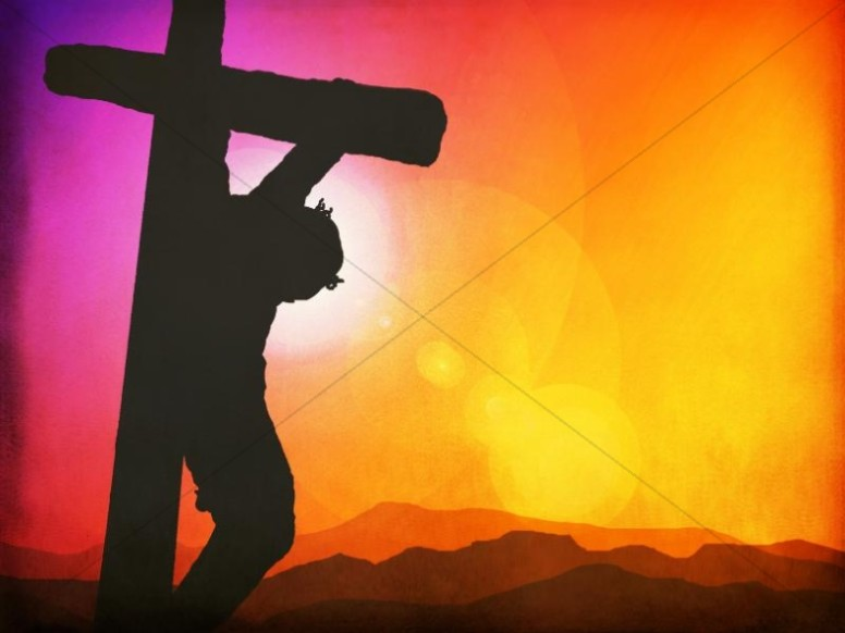 Jesus on the Cross Worship Background