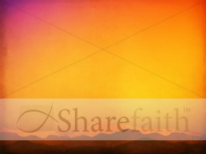 Sunset Worship Slide