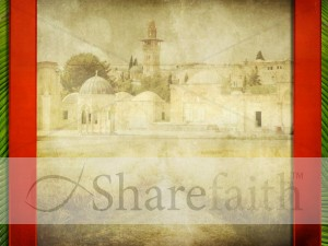 Jerusalem Worship Background