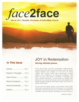 Worshipper Church Newsletter
