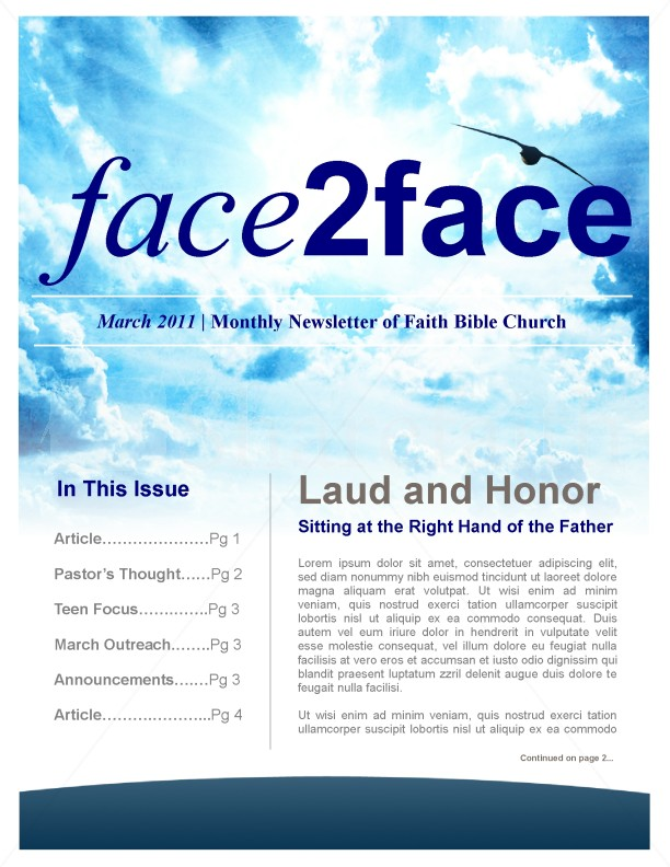 Creation Church Newsletter