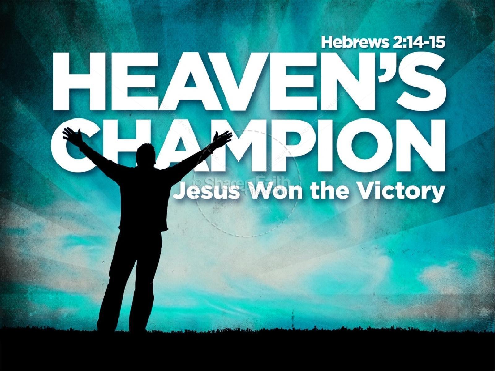 Victorious Jesus PowerPoint Sermon