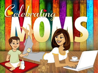 Celebrating Moms PowerPoint