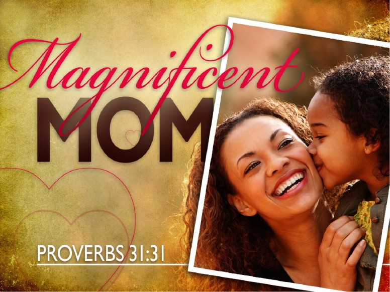Magnificent Mom PowerPoint Template