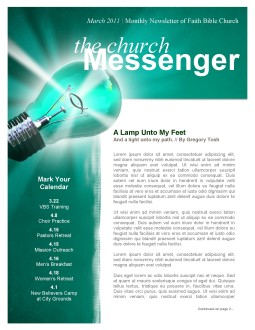 Light Unto My Feet Church Newsletter