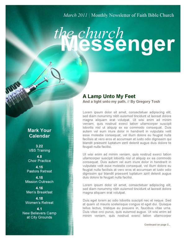 Light Unto My Feet Church Newsletter