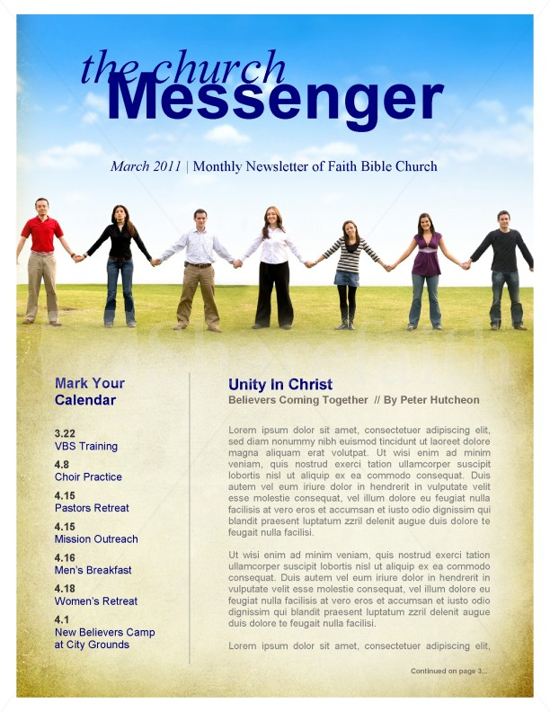 Church Unity Newsletter