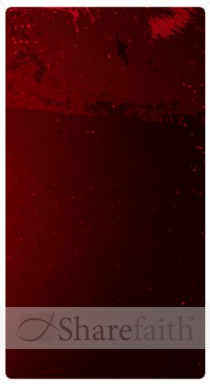 Dark Red Banner Widget