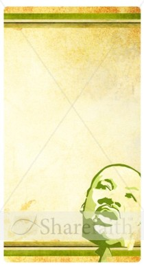 Martin Luther King Banner Widget