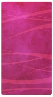 Pink Stripes Banner Widget
