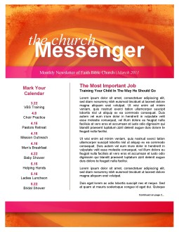 Rose Church Newsletter