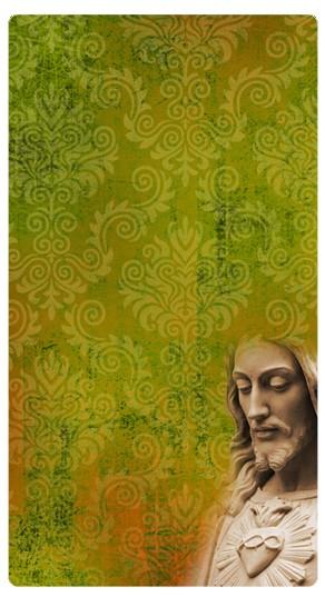 Jesus Statue Banner Widget