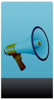 Megaphone Banner Widget
