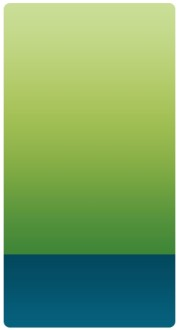 Green and Blue Banner Widget