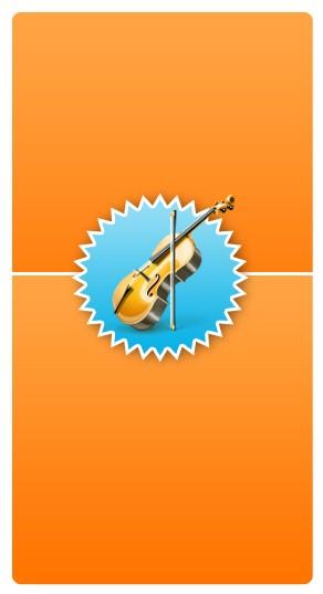 Violin Banner Widget
