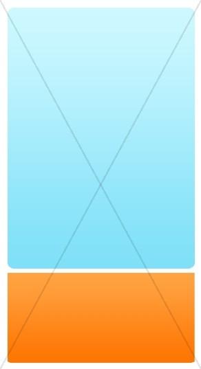 Blue Color Banner Widget
