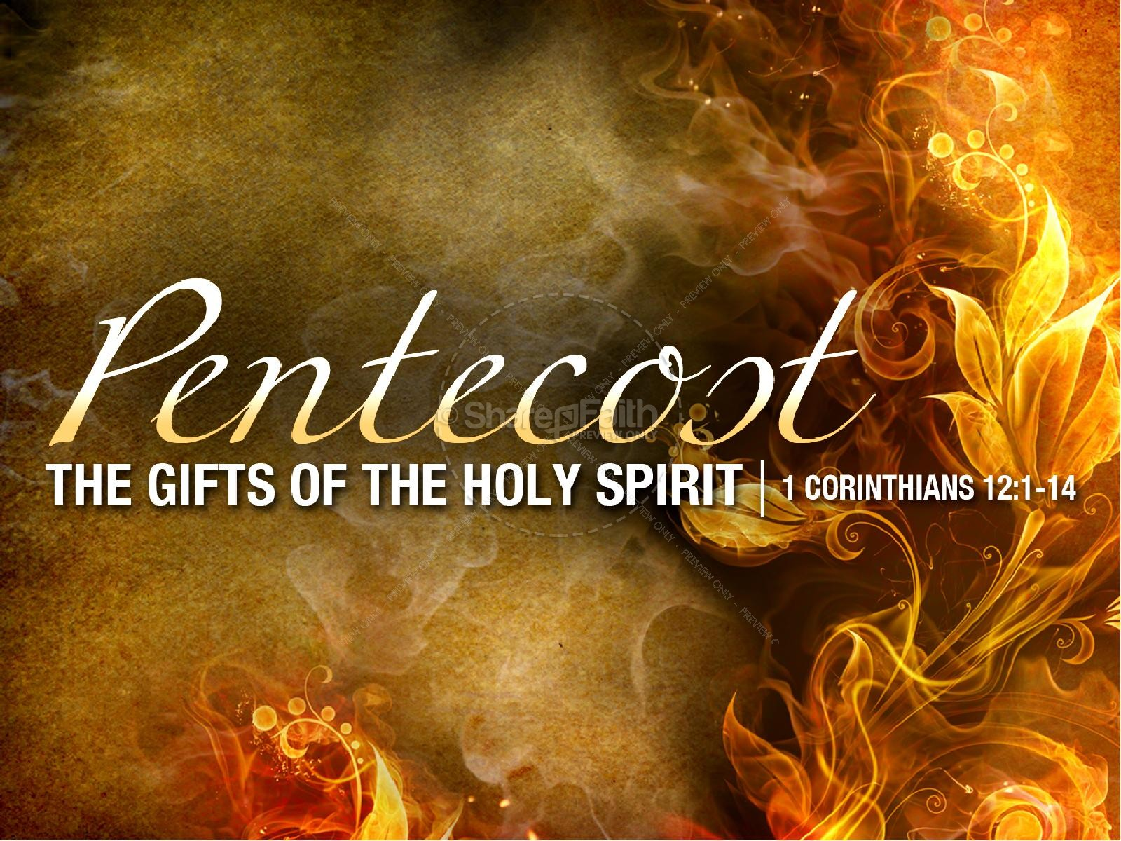 Holy Spirit Gifts PowerPoint