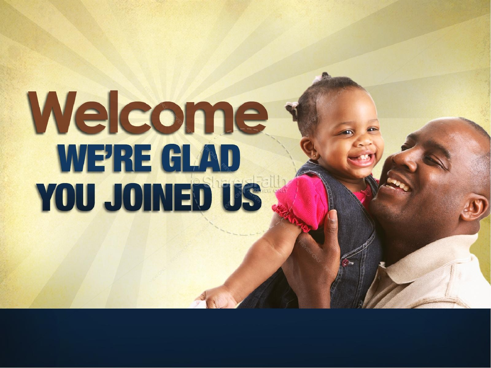 Joy of Fatherhood Sermon PowerPoint Template | slide 2