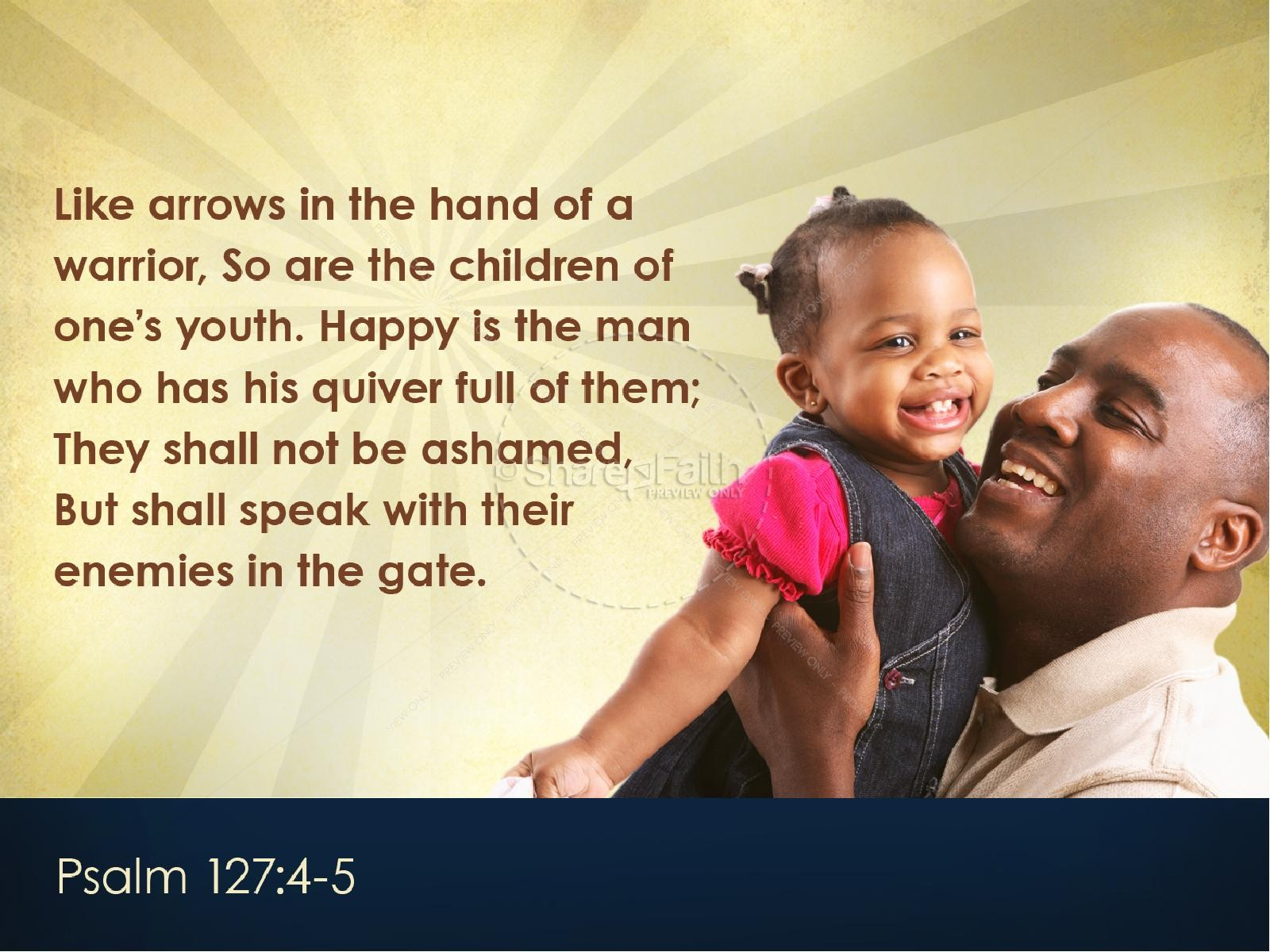 Joy of Fatherhood Sermon PowerPoint Template | slide 4