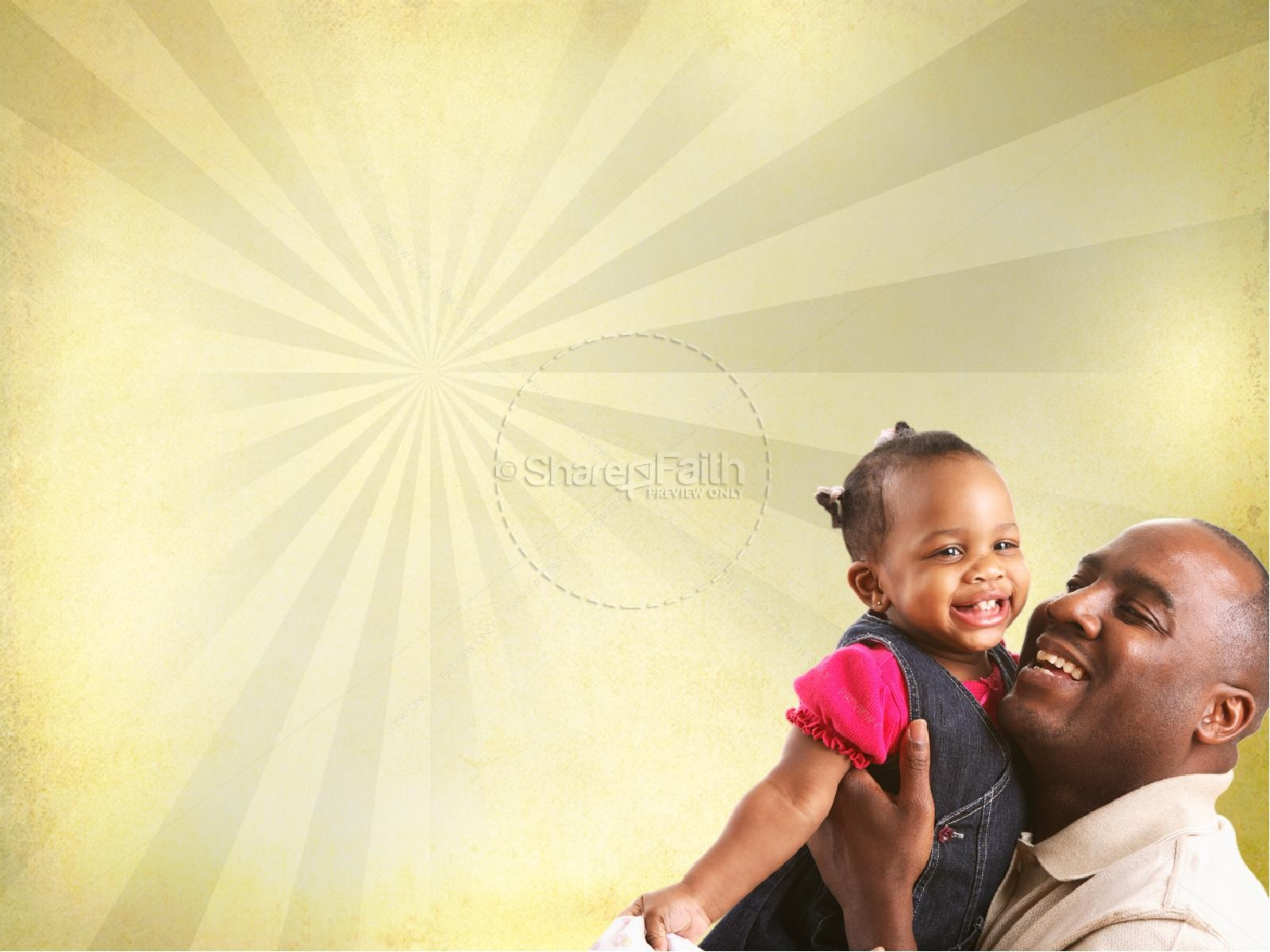Joy of Fatherhood Sermon PowerPoint Template | slide 7