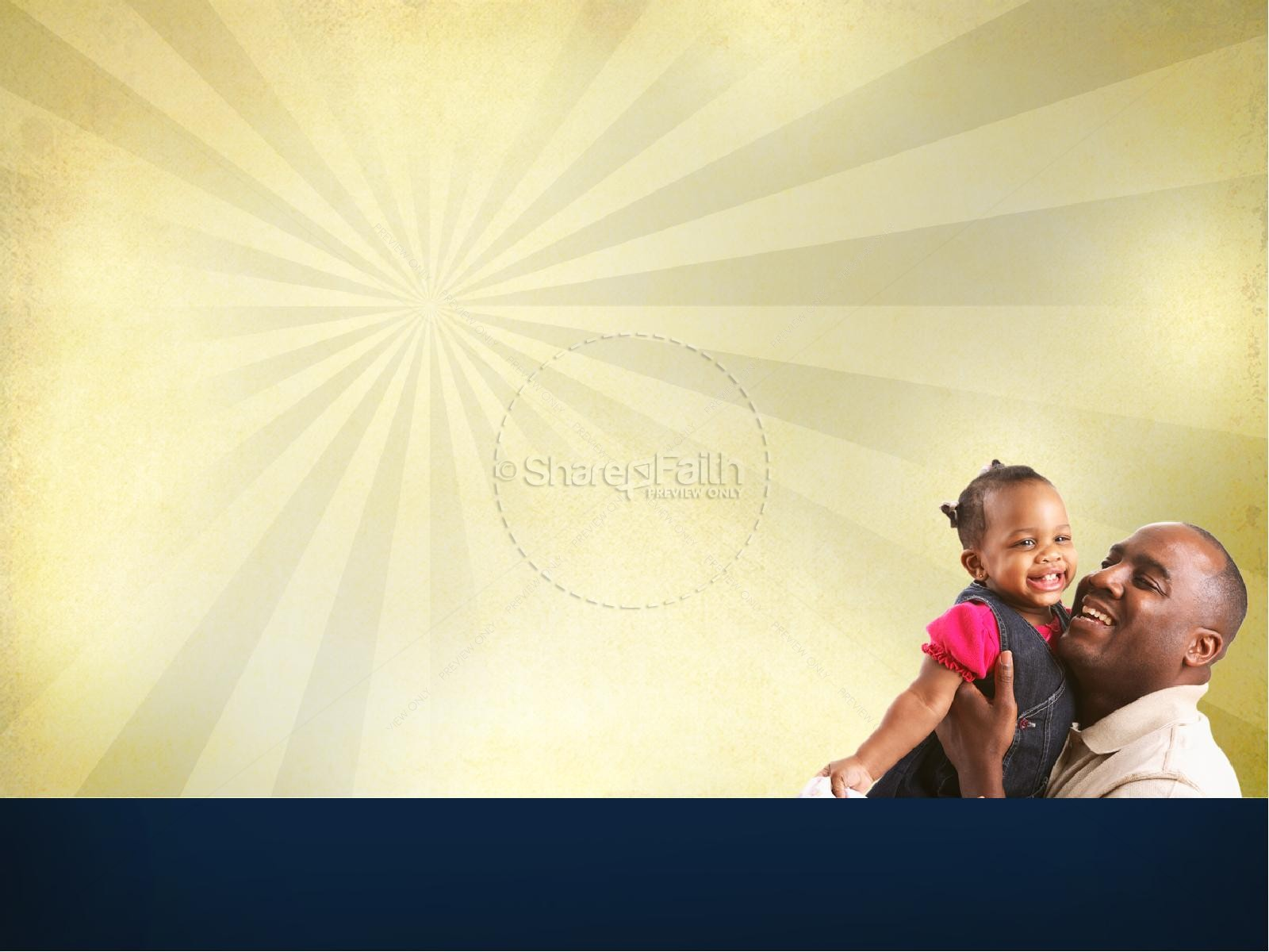 Joy of Fatherhood Sermon PowerPoint Template | slide 8
