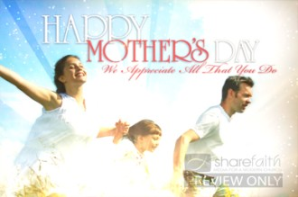 Mother's Day Welcome Video Loop