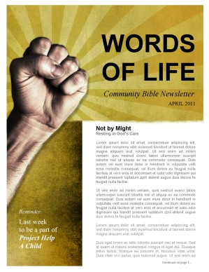Power Church Newsletter