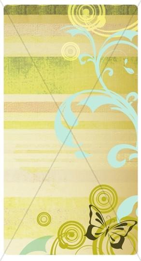 Spring Deco Banner Widget