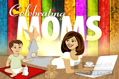 Celebrate Moms Church Video Loop