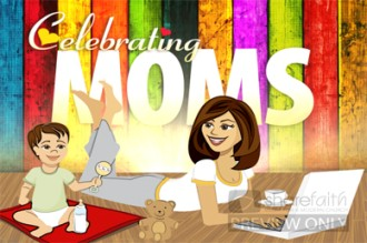 Celebrate Moms Church Video Loop