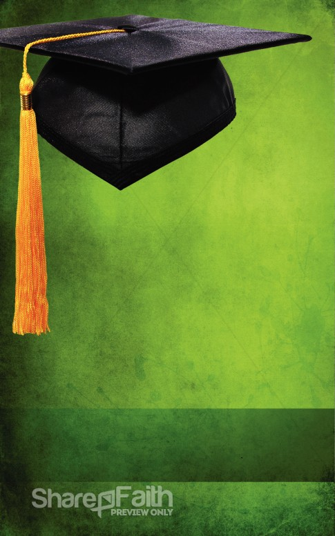 Graduation Green Program Cover