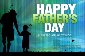 Happy Fathers Day Golfing Video