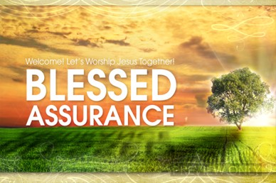 Blessed Assurance Welcome Video