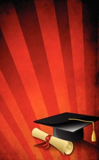 Graduation Rays Program Cover