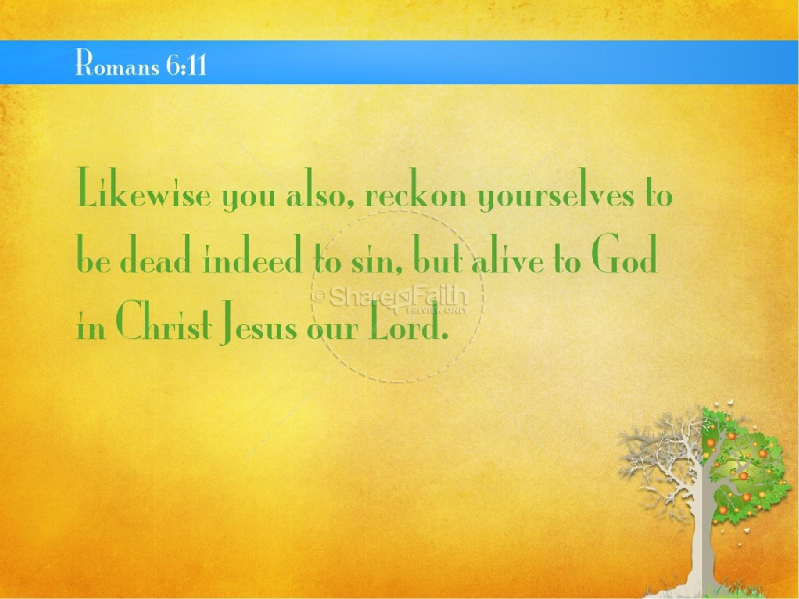 Transformed Life PowerPoint Sermon