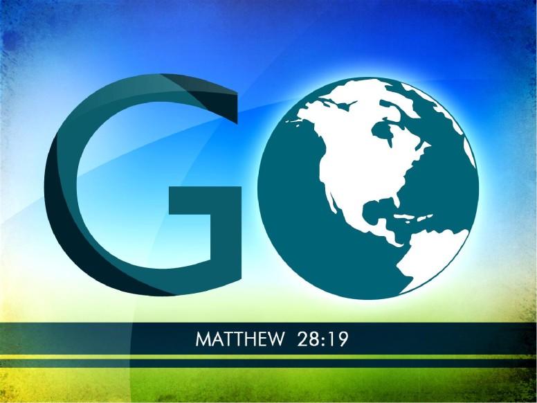 Go Make Disciples Sermon PowerPoint