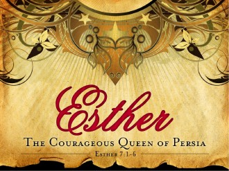 Esther Queen Of Persia PowerPoint template