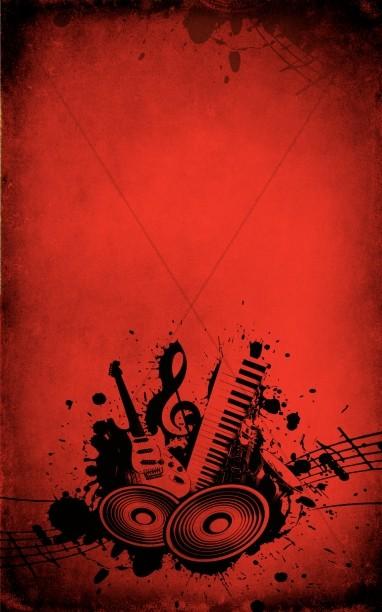 Worship Music Church Bulletin Template