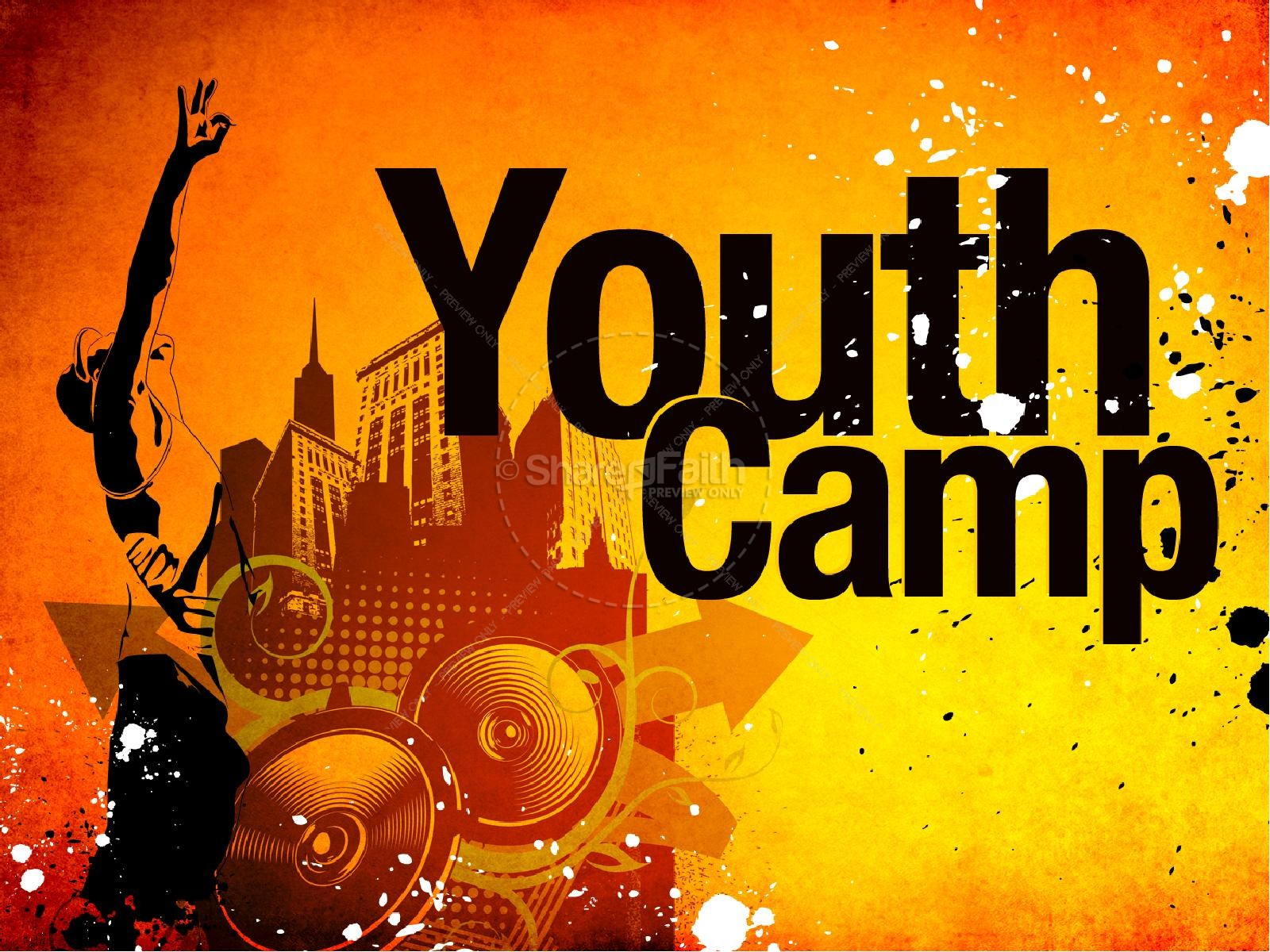Youth Camp Church PowerPoint