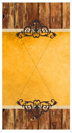 Wood Design Banner Widget