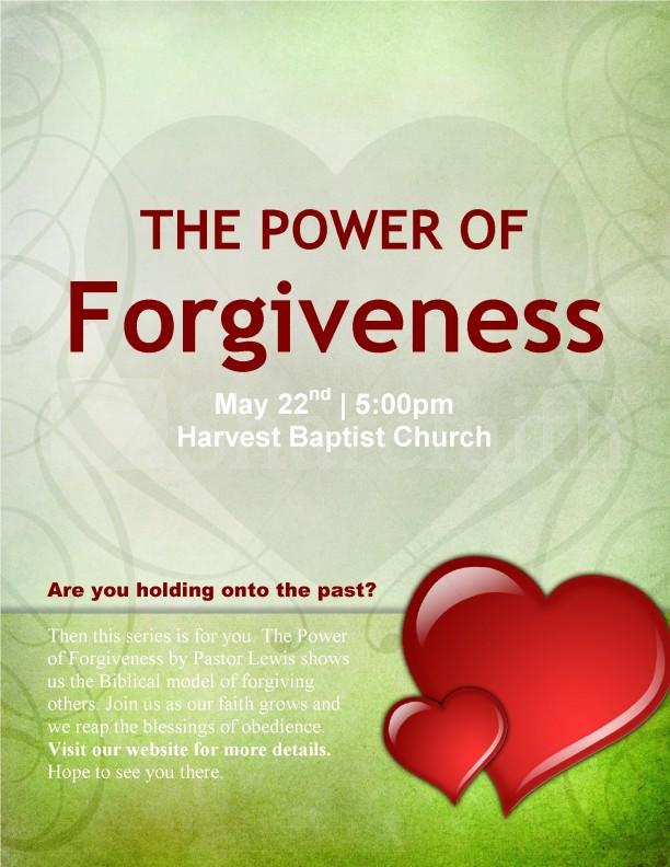 Forgiveness Flyer
