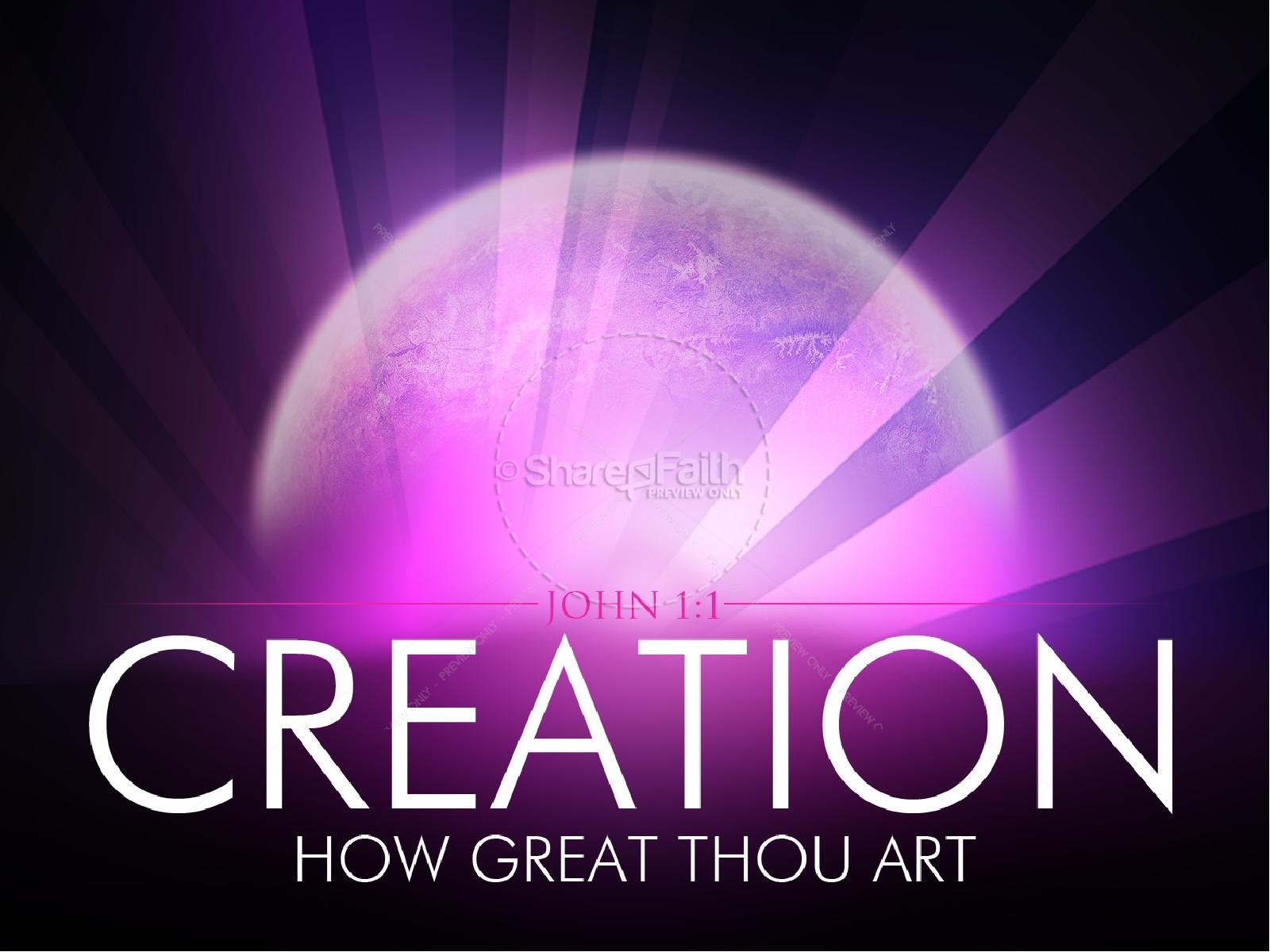 Creation PowerPoint