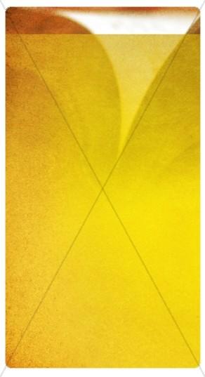 Bright Yellow Design Banner Widget