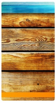 Wood Decoration Banner Widget