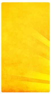 Bright Yellow Rays Banner Widget