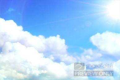 HD Cloud Video Loops