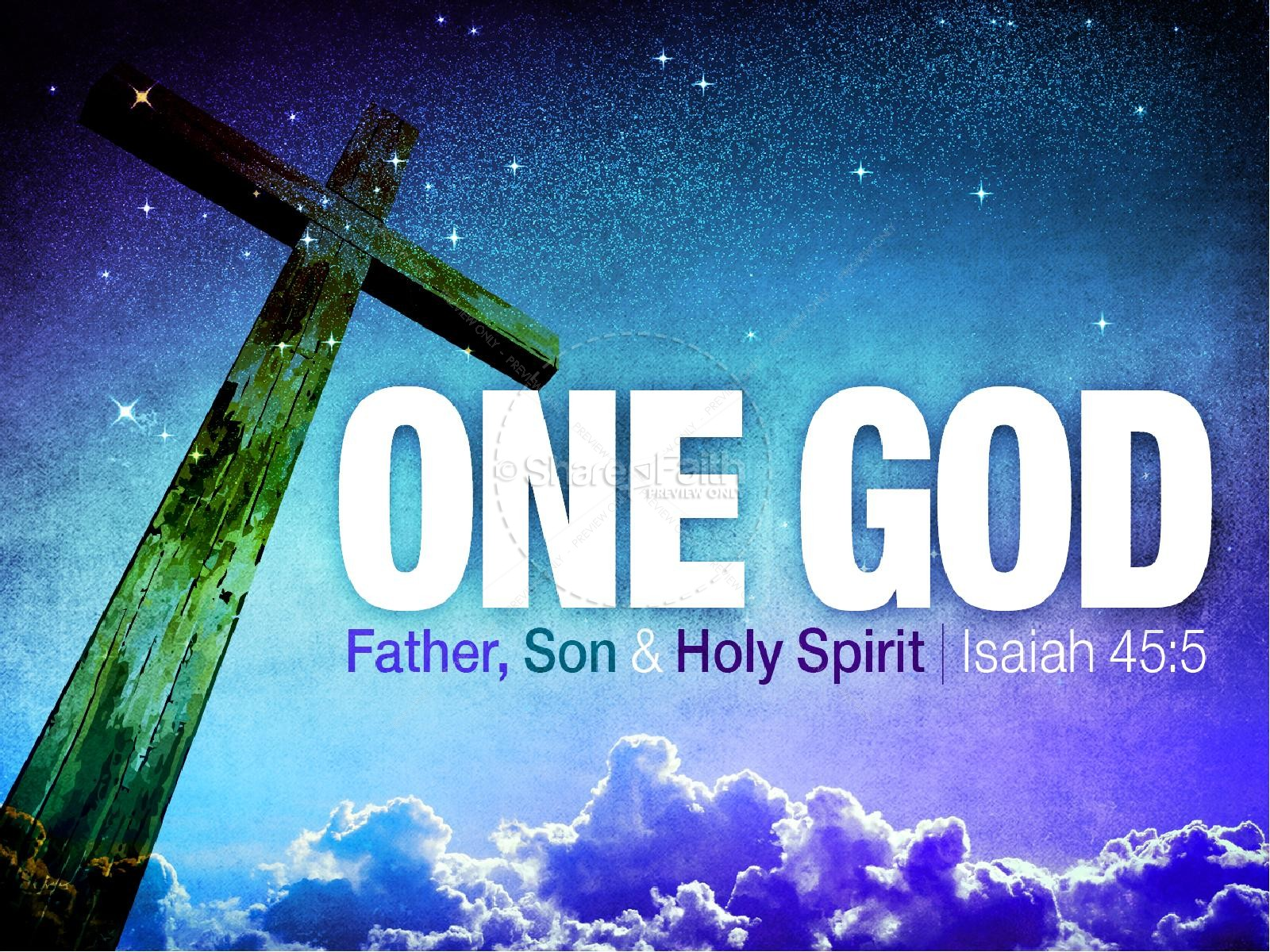 One God PowerPoint Sermon