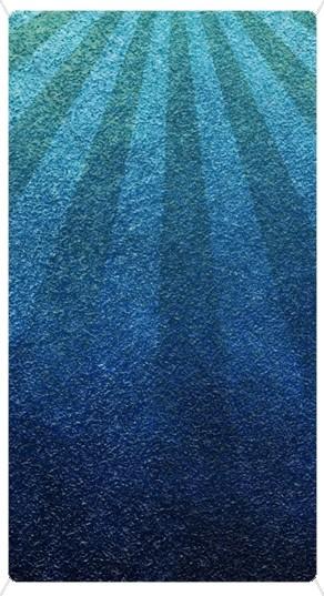 Blue Rays Textured Banner Widget