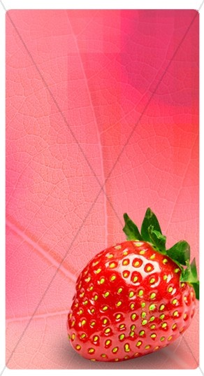 Strawberry Banner Widget