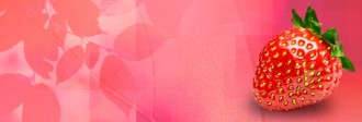 Strawberry Website Banner